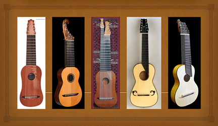 Harp Guitar Makers and Restorers