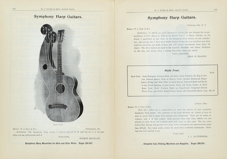 W  J  Dyer & Bro  1907-1908 Catalog