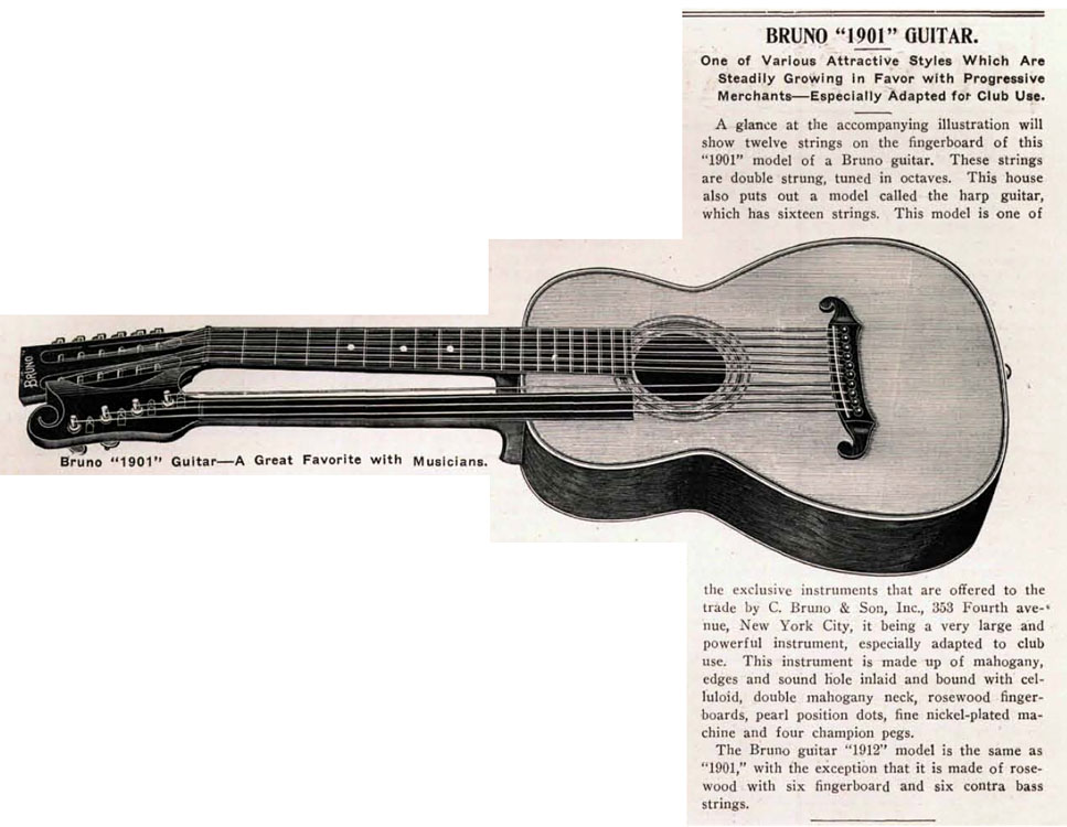 The Birth of the American 12-string Guitar by Gregg Miner