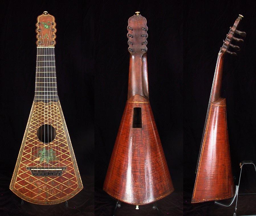 Hansen: America\'s First True Harp Guitar