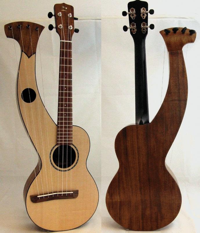 Harp Ukuleles By Gregg Miner