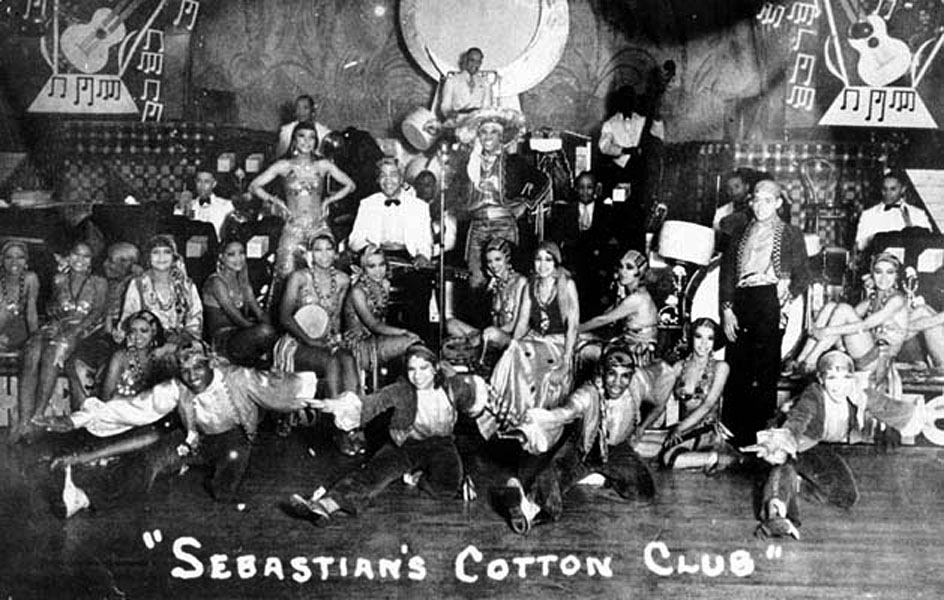 Cotton club 1920 decor ideas