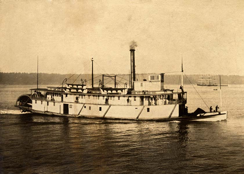 Steamboats How Chris Knutsen Traveled Around Puget Sound
