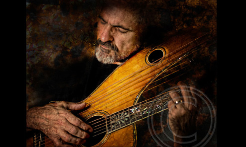 If Rembrandt painted harp guitars