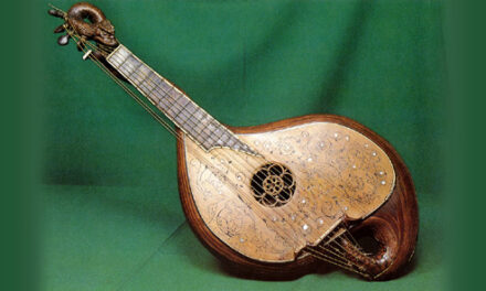 Attack of the Mysterious Gourd-Bodied Snail-Dragon Harp Guitar Thingys