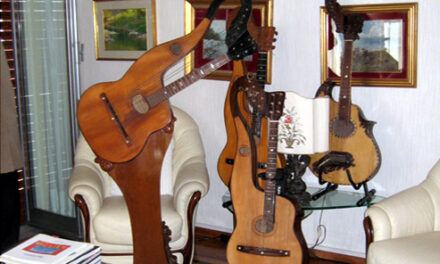 In Search of Genoese Harp Guitars, Part 2: Franco's Surprise
