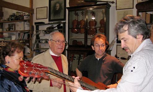 In Search of Genoese Harp Guitars, Part 4: A Visit to Pio Montanari & Alberto Giordano