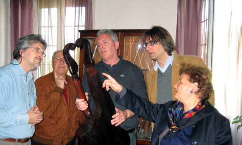 In Search of Genoese Harp Guitars, Part 8: Marco, the Guitar Collector