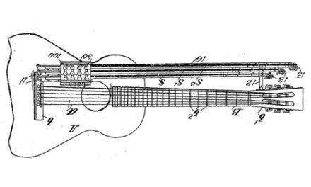 Harp Guitar-on-a-Stick