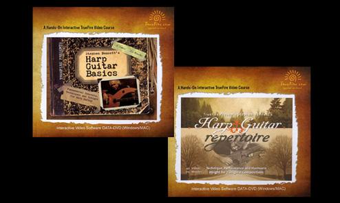 Stephen Bennett's TrueFire Instructional DVDs