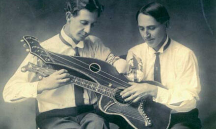 More on Amend, the One-Armed Harp Guitarist