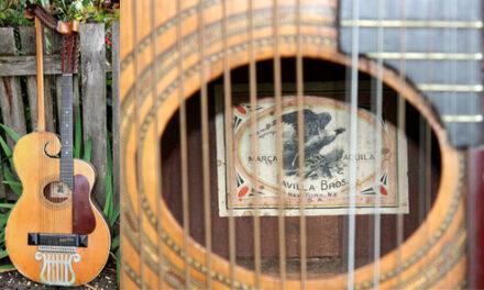 One-of-a-Kind Favilla Bros Harp Guitar
