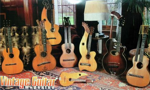 Stutzman's Harp Guitars