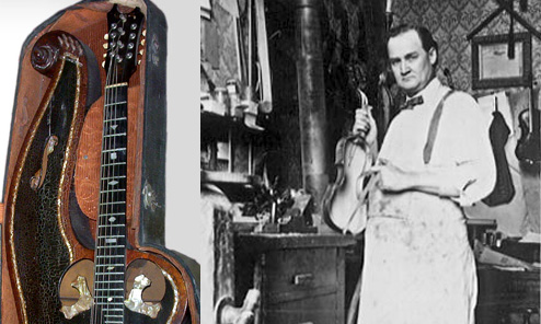 Portland's Premier Harp Guitar Builder