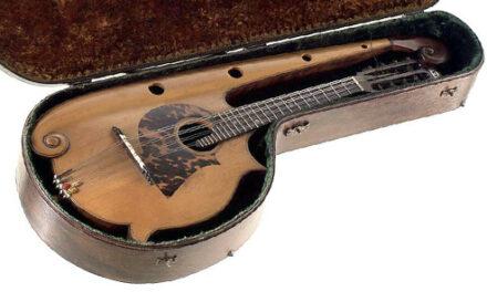 Giovanni Cera, Italian Harp-Mandolinist from Down Under