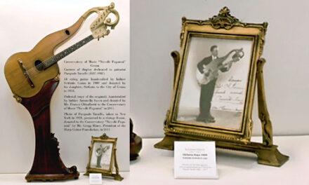 Taraffo Display at the Conservatorio