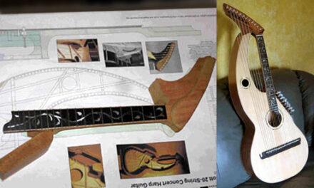 Hoelle Harp Guitar