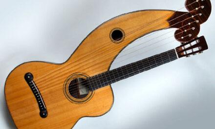 New Arul Harp Guitar