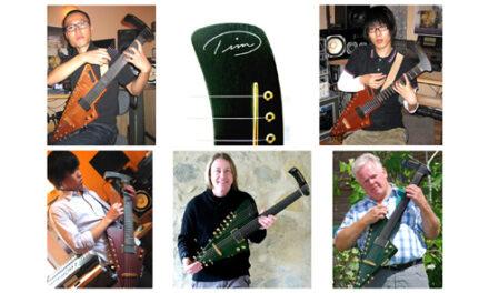 Tim Donahue's Growing Electric Harp Guitar World