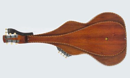 Knutsen's Floating-Back Harp Steel Guitars