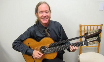John Schneiderman: Russian Harp Guitar Sighting