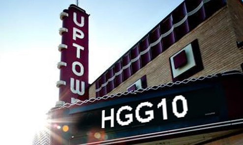 Our Name Up in Lights for the Gathering's 10th Anniversary