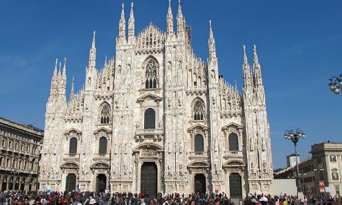 Milan, Day 2 Morning: Outside & Inside Duomo