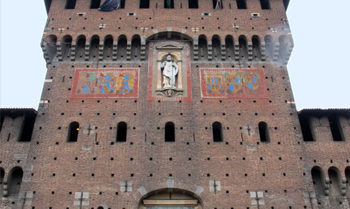 Milan, Day 2 Afternoon: Sforza Castle