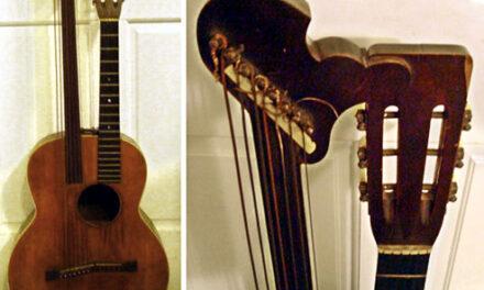 Carlson Harp Guitar