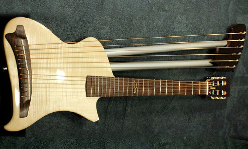 Monterosso Travel Harp Guitar