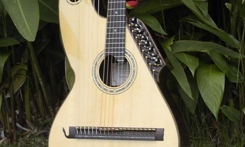 New Hawaiian Harp Guitars