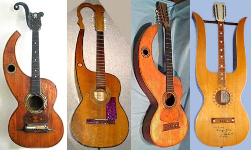 More Non-Harp Harp-Guitars