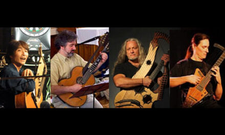 Performers of The 10th Harp Guitar Gathering