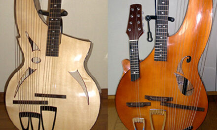 New Archtop Harp Guitars