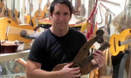 Nine Inch Harp Guitars
