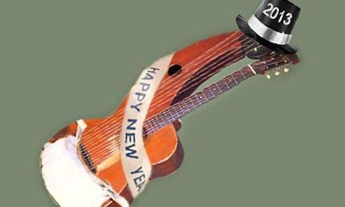 Happy Harp Guitar New Year!