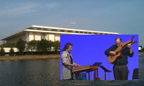 Harp Guitar at the Kennedy Center