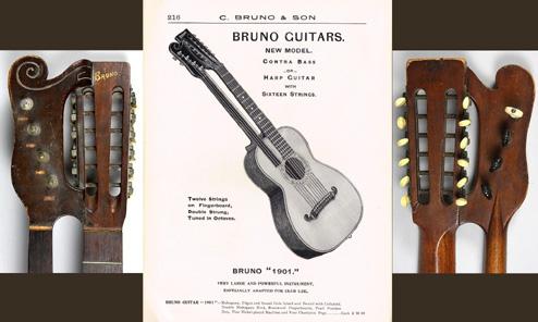 12-String Guitar, Meet the 1901 Harp Guitar