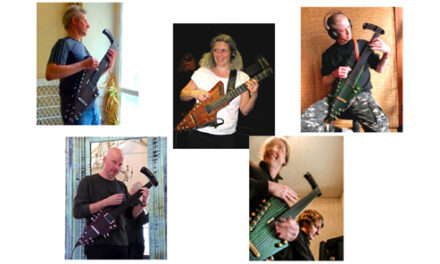 Checking in on Tim Donahue's Plan for Electric Harp Guitar Global Domination