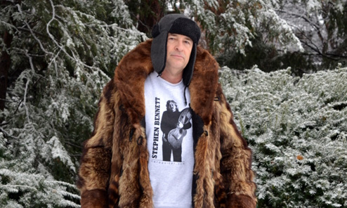 Winter Wear for the Fashionable Harp Guitarist
