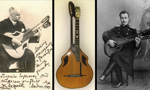 The Harp Guitar of Boris Perott