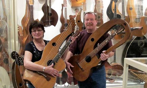 Knutsen & Anderson Harp Guitars, Continued