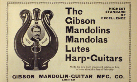 Cataloging Early Gibson Harp Guitars