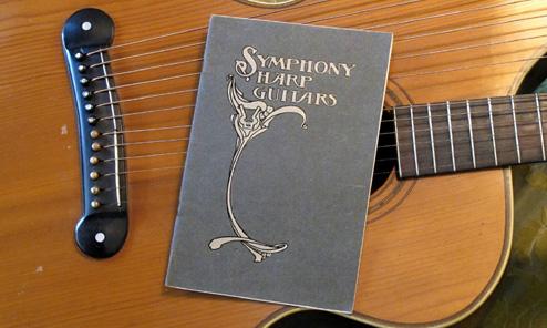 Dyer Harp Guitar Catalog Found!