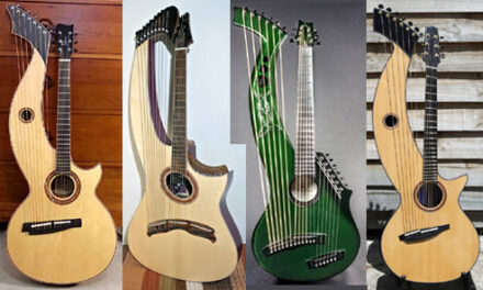 Recent Harp Guitar Builds