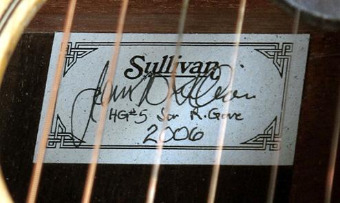 John Sullivan's Final Harp Guitar