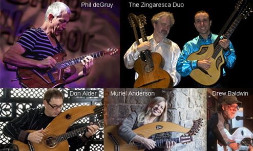 Schedule of Events for the 13th Harp Guitar Gathering