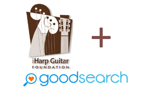 Goodsearch the Web and Support the Harp Guitar Cause