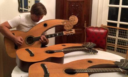 The 21st Century Dyer Harp Guitar