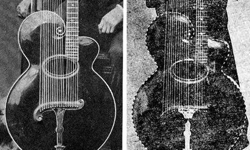 Orville's Harp Guitars
